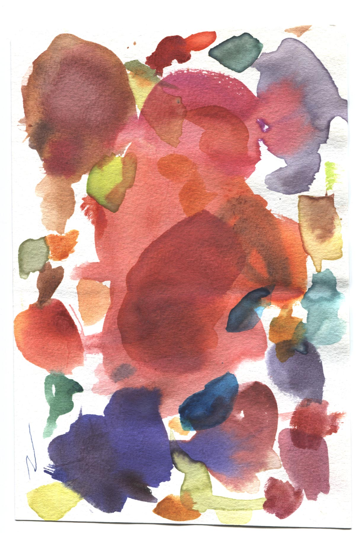 Seven Watercolor Paper Textures