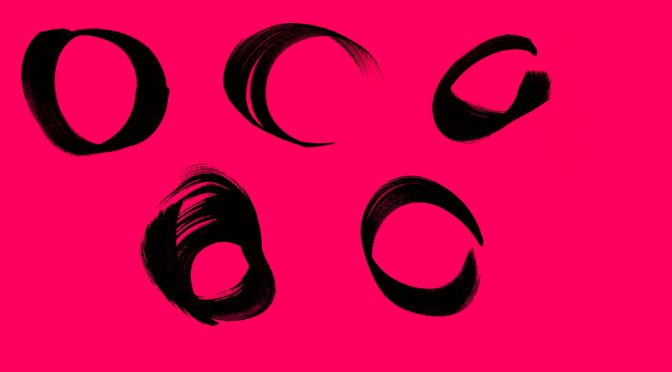 12 Circle Brush Strokes