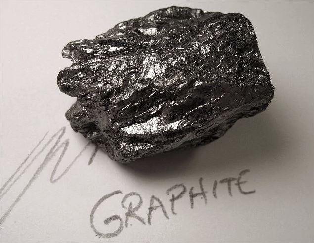 A chunk of Graphite.