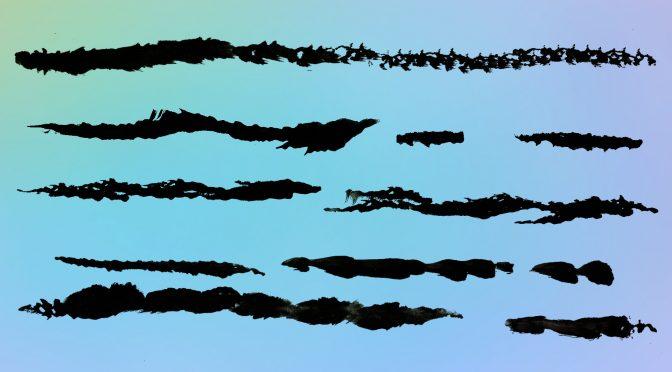 28 Grunge Line Brush Stroke Textures