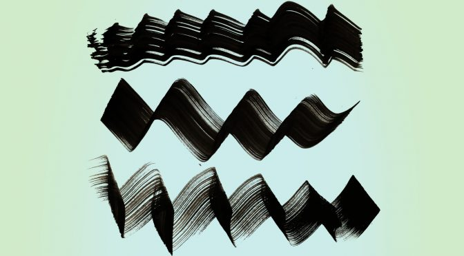 18 Free ZigZag & Wave Paint Brush Strokes