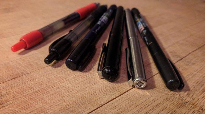 why do pens leak