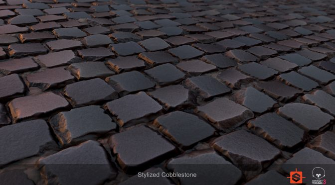 Stylized Cobblestone Texture